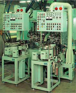 Automated hardening machine for small parts