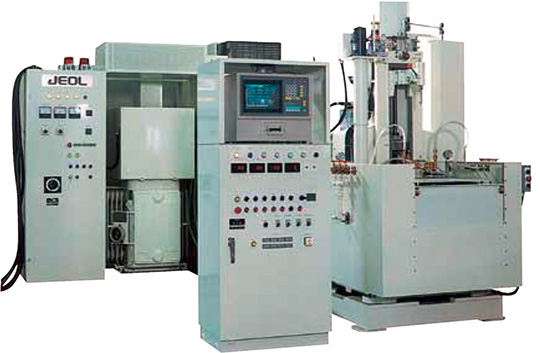 Vertical type computer-controlled hardening machine