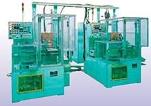 Automated hardening machine in nitrogen atmosphere