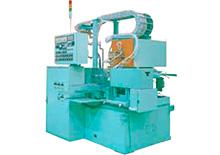 Automated horizontal type hardening machine for shafts